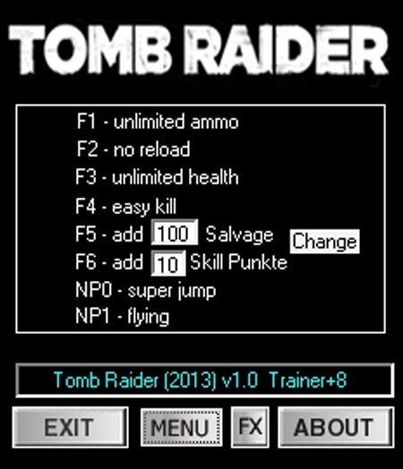 tombraider20138trainer Tomb Raider (2013) [1.0.716.5] +8 Trainer [dR.oLLe]