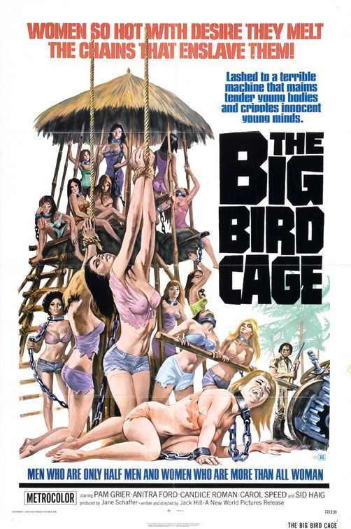bigbirdcage Jack Hill   The Big Bird Cage (1972)