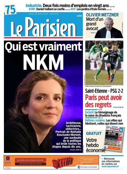 Le Parisien Lundi 18 Mars 2013