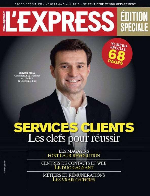 L'Express N°3222 Édition Speciale du 03 au 09 Avril 2013