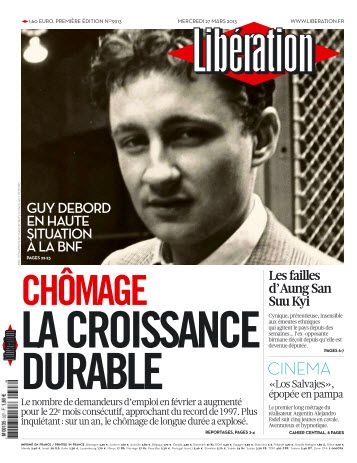 Libération Mercredi 27 Mars 2013