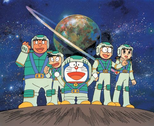 Nobita Drifts in the Universe